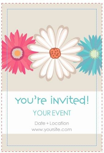 Invitation Card Design Template | templates | Pinterest ...
