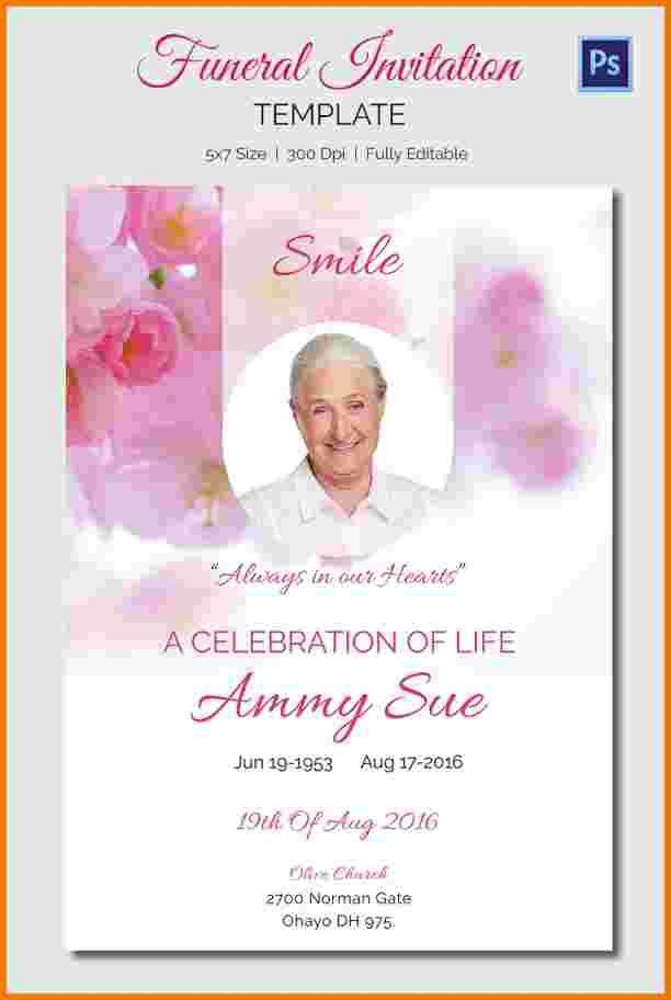 Funeral Announcement Sample.Funeral Invitation 8.jpg - menstrual ...