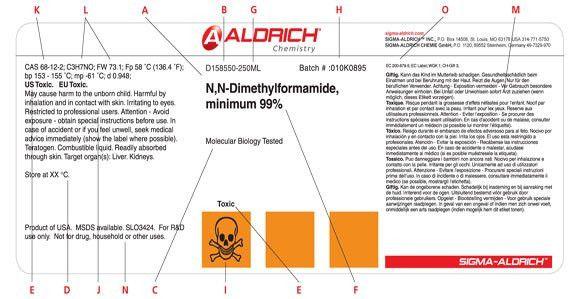 Understanding the Label | Sigma-Aldrich