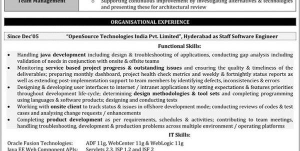 Automation Testing Resume Sample Performance Testing Resume ...