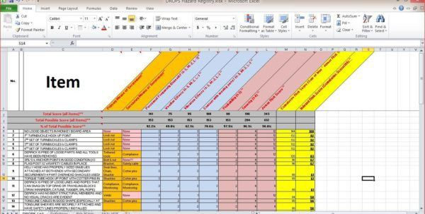 Vacation Tracking Template. Employee Attendance Tracker For Excel ...