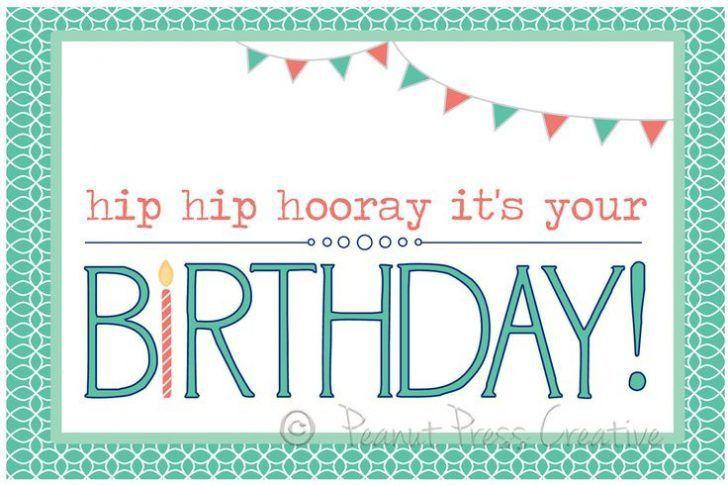 Print Birthday Card Free - Fugs.info