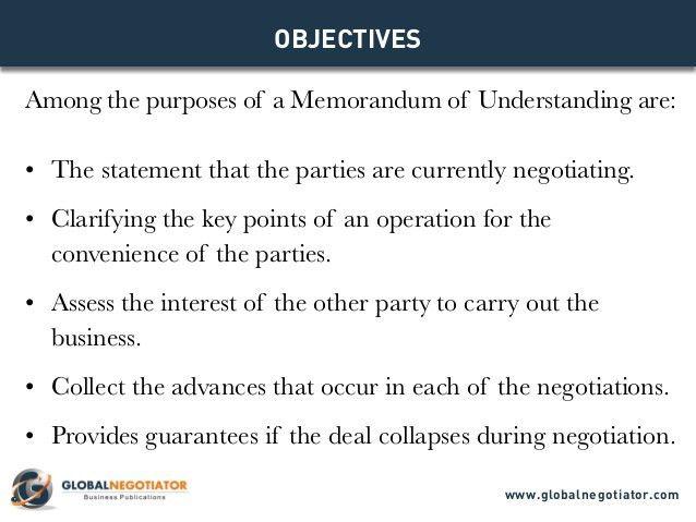 Sample Memorandum Of Agreements. Memorandum Of Agreement ...