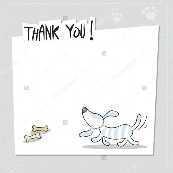 11+ Funny Thank You Cards - Free EPS, PSD Format Download | Free ...