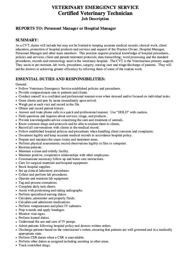 Veterinary Assistant Resume Samples Veterinary Assistant Resume ...