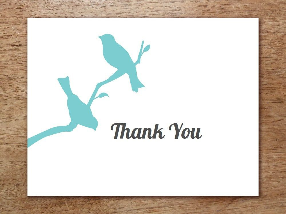 6+ Thank You Card Templates - Word Excel PDF Templates