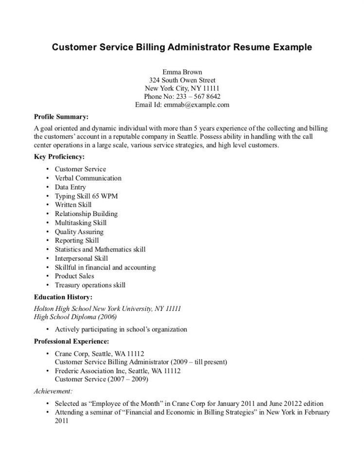 Medical Biller And Coder Resume Medical Biller Resume Skills ...