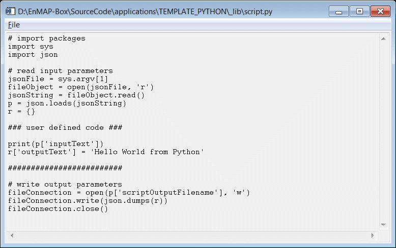 Running Python Scripts and Code (hubAPI Documentation)