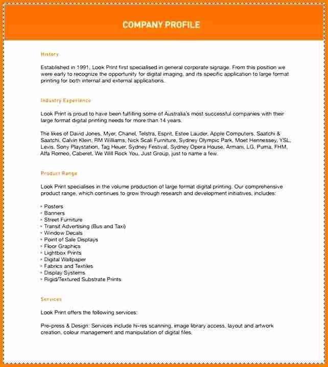 Company Profile Template Pdf. 5 sample of a company profile pdf ...