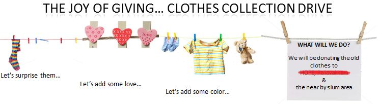 How to organize a clothes collection drive - Volunteer Weekly