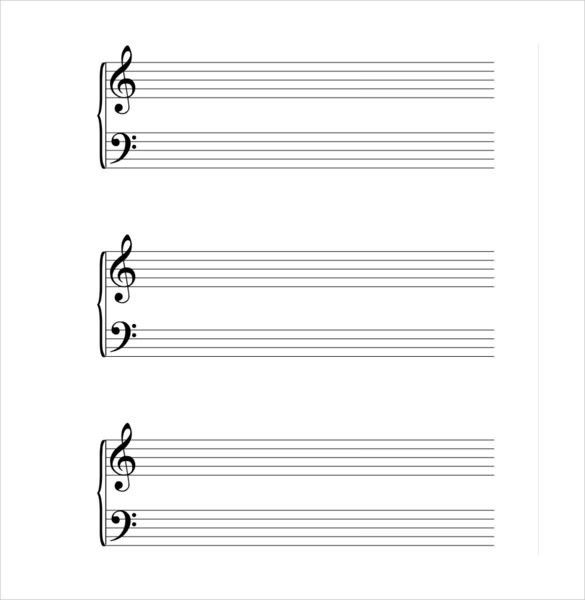 Musical Note Template – 9+ Free PDF, EPS Format Download! | Free ...