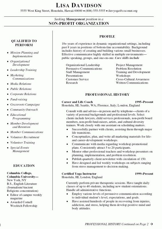 How To Write A Coaching Resume | Samples Of Resumes