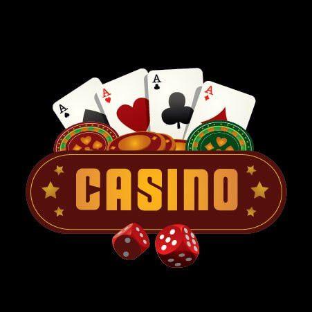 Casino Poker Logo Design Template