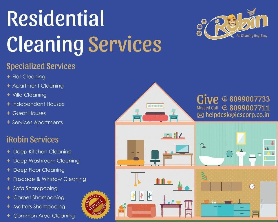 Contact us for New House Cleaning Services., Hyderabad