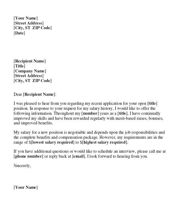 Salary Negotiation Letter. Job Offer Letter Negotiation Job Offer ...