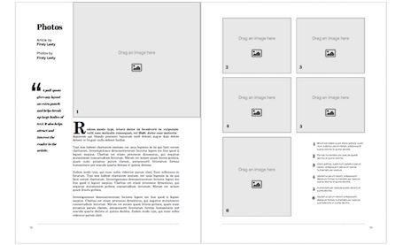 Professionally designed, easy-to-use book templates | Blurb