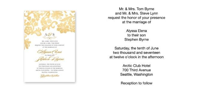 Wedding Invitation Email Wording | PaperInvite