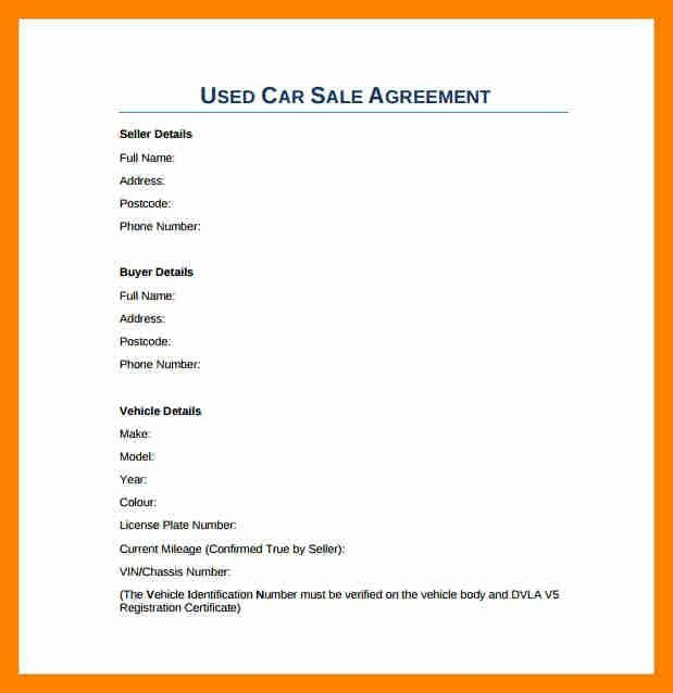 3+ car sale agreement doc | resume sections