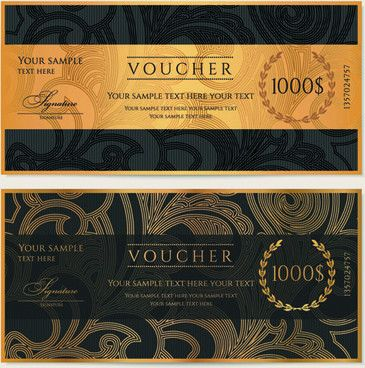 Discount voucher design free vector download (825 Free vector) for ...
