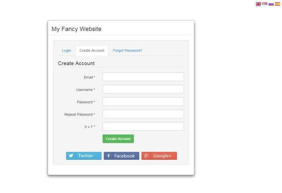 15+ Best Clickable PHP Registration Form Templates - Web Creative All