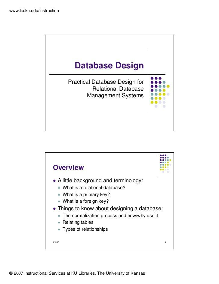 Database design & Normalization (1NF, 2NF, 3NF)