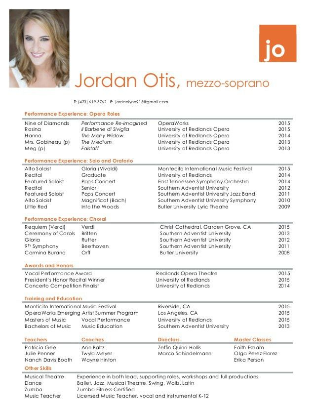 Sumptuous Design Performance Resume 6 Performance Resume Jordan ...