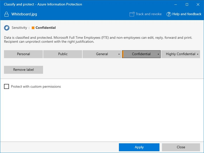 Azure Information Protection December update moves to general ...