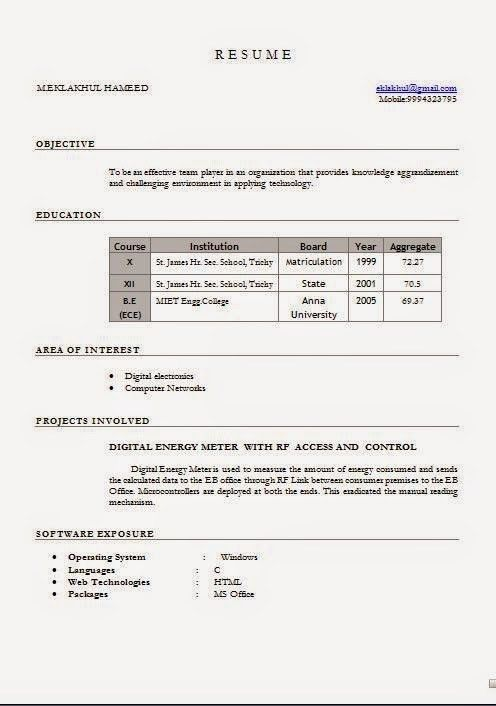 management resume format management cv template managers jobs
