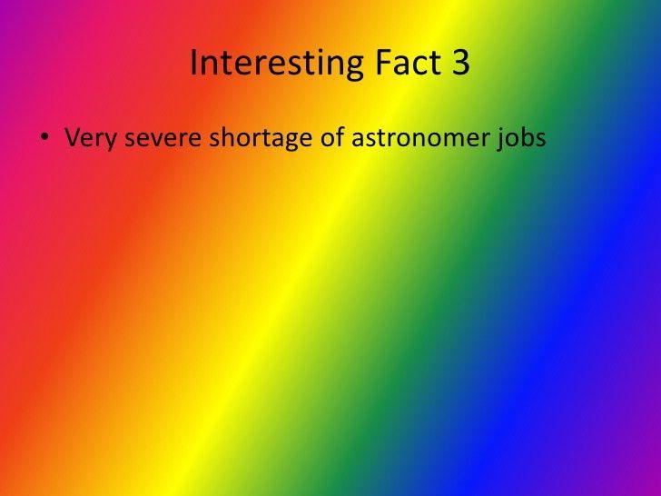 Astronomer career