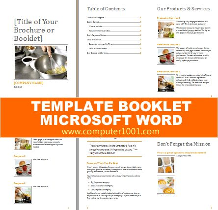 28+ Booklet Template Microsoft Word 2007 | Pics Photos Book Cover ...