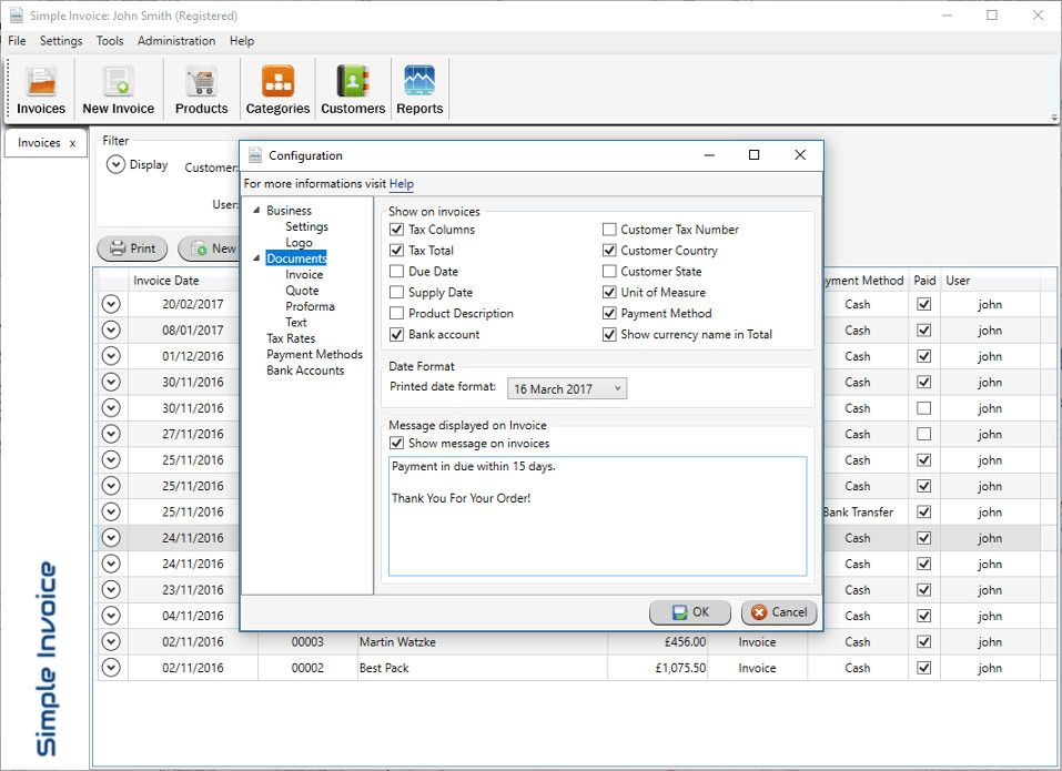 Download Simple Invoice 3.3