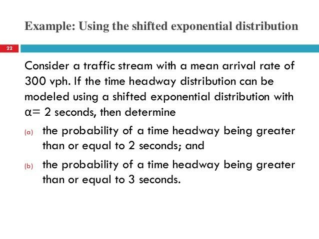 Lecture 02 Traffic Flow Characteristics (Traffic Engineering هندسة ال…