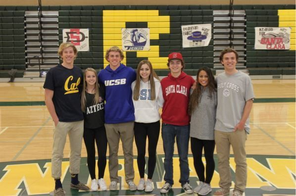 SRVHS senior athletes participate in National Letter of Intent ...