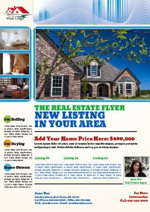 Real Estate Flyer Templates   PageProdigy – Print for $1