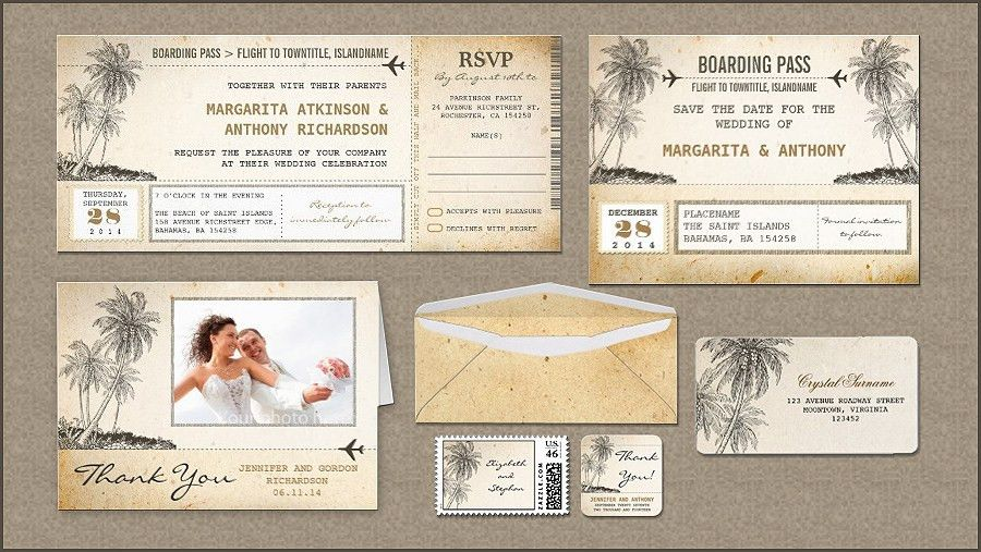 read more – BOARDING PASS FLIGHT TICKETS WEDDING INVITATIONS WITH ...
