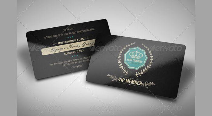 15+ Membership Card Designs | Design Trends - Premium PSD, Vector ...