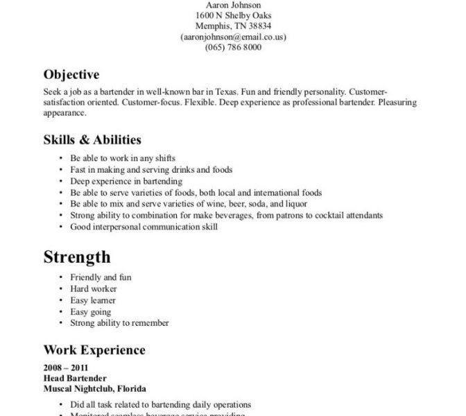Server Resume. Banquet Waiter Resume Sample Waiter Resume - 6+ ...