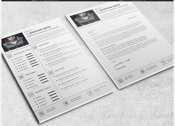 innovation inspiration professional resume template 8 best 25 ...