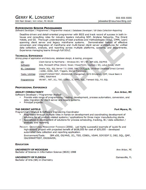 Mid level Resume Writing Services | 360 Resume Pros