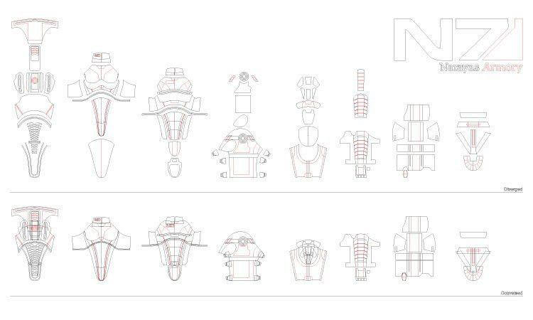 Eva Foam Armor Templates | Template Design