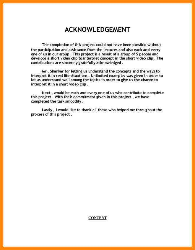 5+ acknowledgement for assignment | nurse resumed