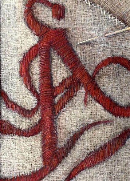 TANYAshpakow - The Scarlet Letter (book jacket cover)