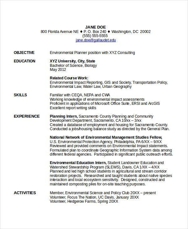 9+ Entry Level Resume Examples | Free & Premium Templates