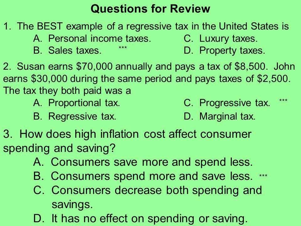 Personal Finance Overview People's income, in part, reflect ...