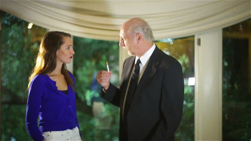 Father Daughter Arguing, Age Gap Professional Actor And Runway ...