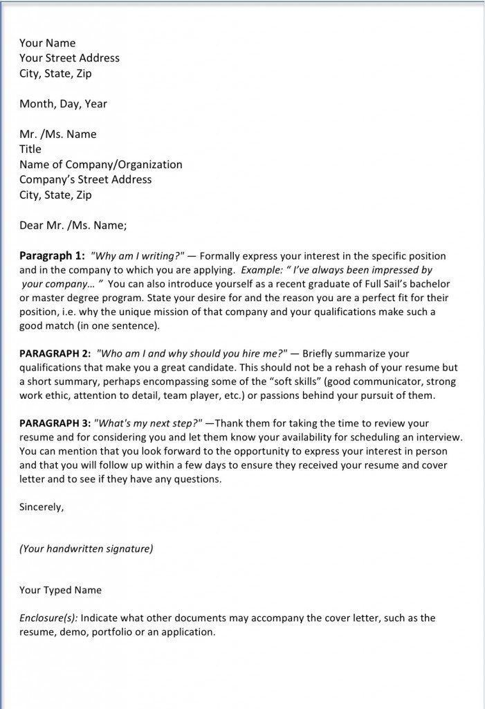 Well-Suited Cover Letter Closing Paragraph 14 Online Writing Lab ...