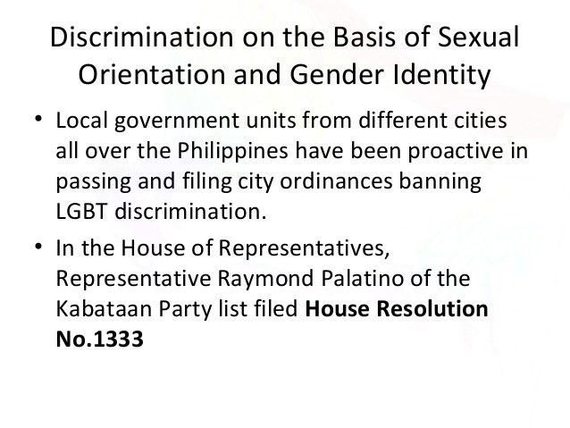LGBT Human rights violation in the Philippines