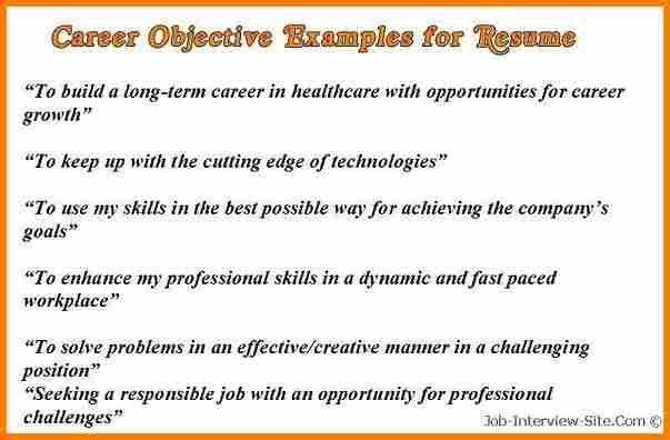 13+ example of resume objective | resume reference