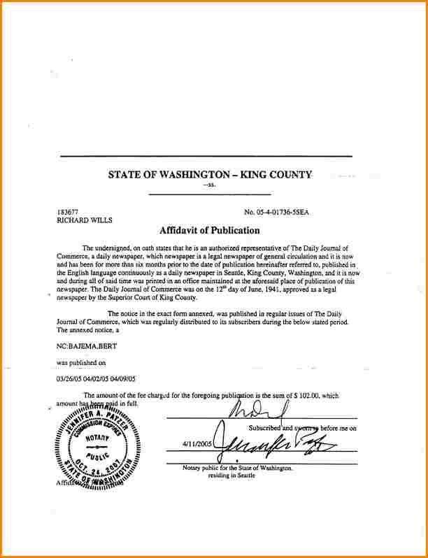 6+ affidavit example | wedding spreadsheet