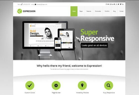 34 HandPicked Responsive Business WordPress Themes - XDesigns